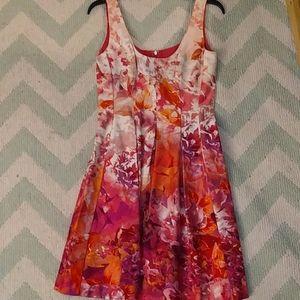 EUC Vibrant floral Nine West dress!